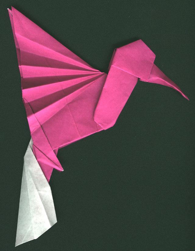Origami Hummingbird Instructions - photo#12