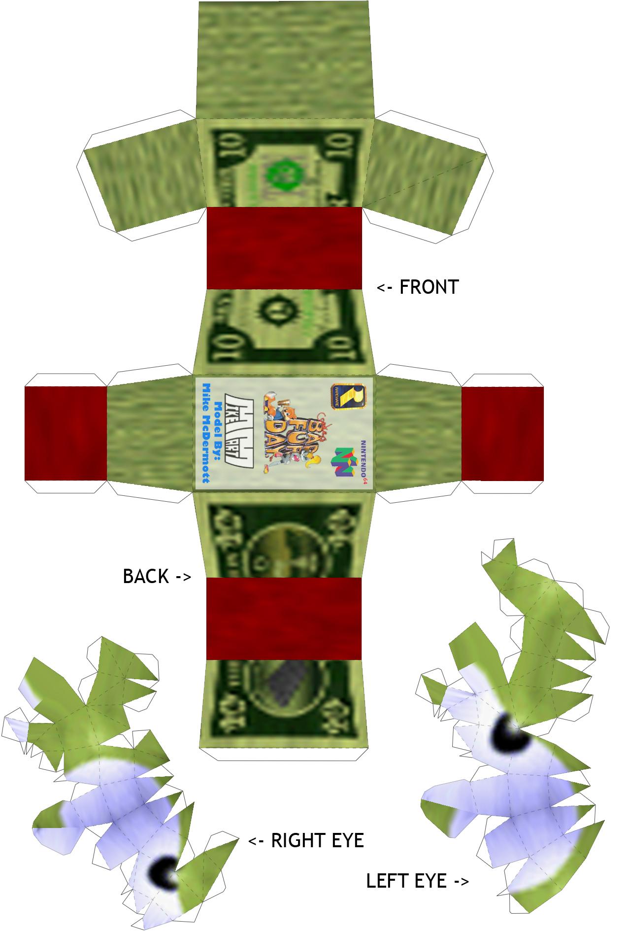 Small Paper Craft Guys Minecraft Melin