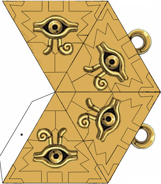 Yu-Gi-Oh! - Limited Edition Necklace Millennium Puzzle ... | 616x538