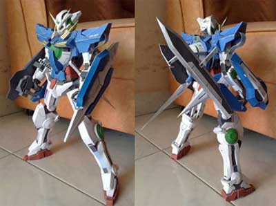 Gundam GN-001 Exia + Seven Swords [Zell2007] - /po/ Archives