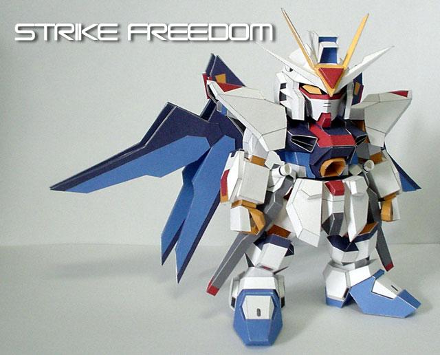 Gundam ZGMF-X20A Strike Freedom SD - /po/ Archives